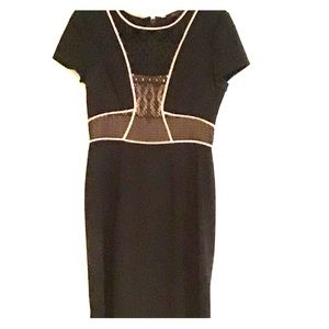 BCBG Dress with lace insert